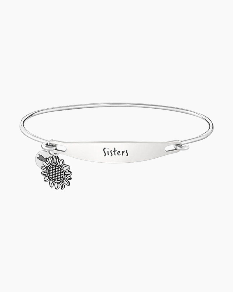 Chamilia Sisters Spoken ID Bangle in Silver
