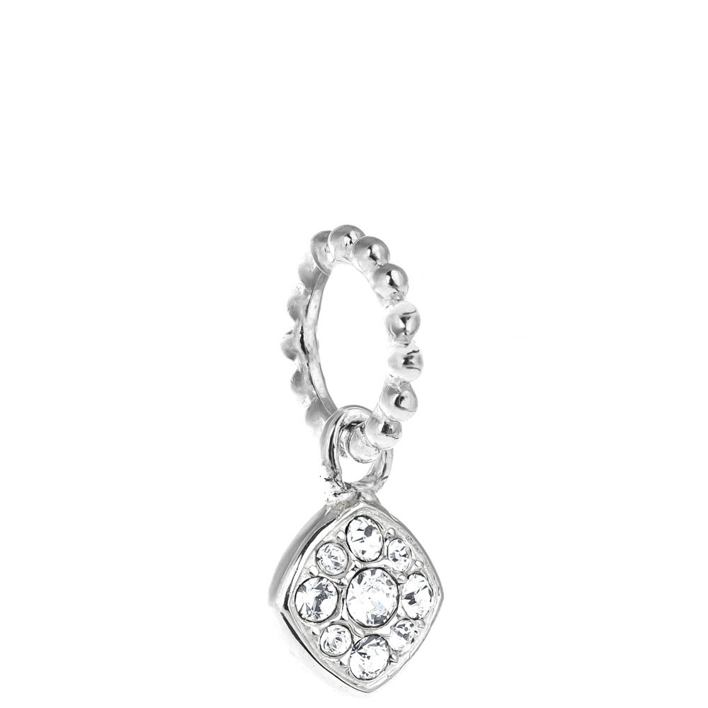 Chamilia Exclusive Petites Crystal Pave Cushion Charm