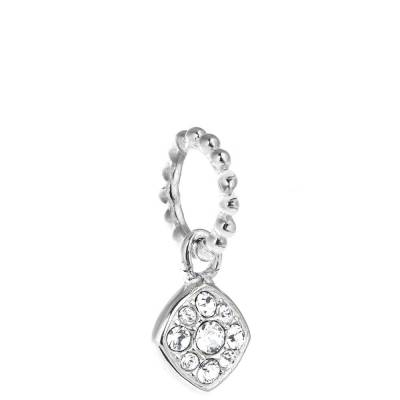 Exclusive Petites Crystal Pave Cushion Charm