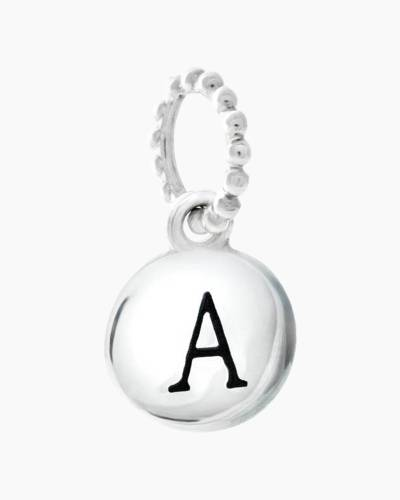 Exclusive Petites Letter A Initial Charm