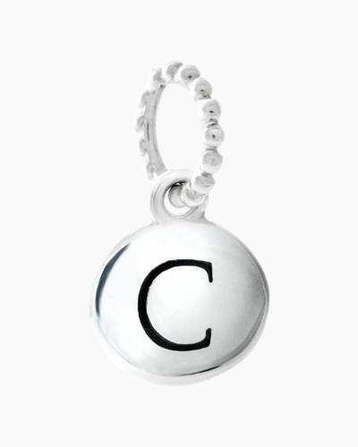 Exclusive Petites Letter C Initial Charm