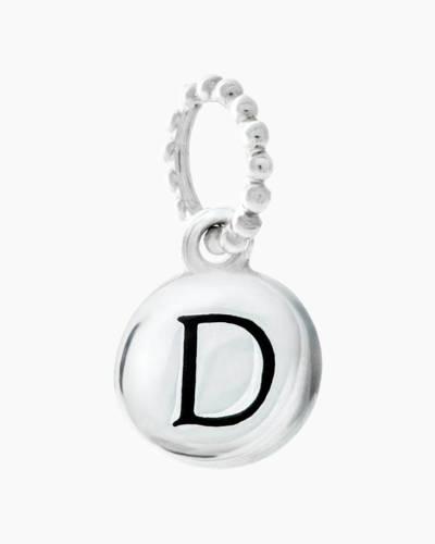 Exclusive Petites Letter D Initial Charm