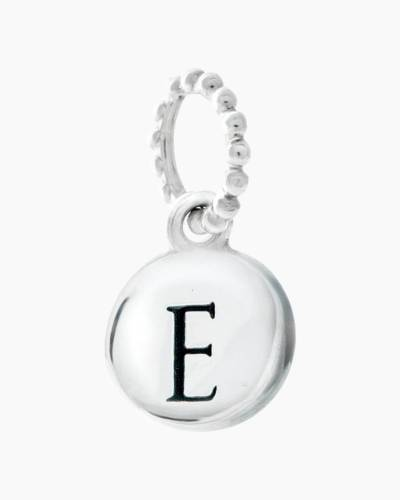 Exclusive Petites Letter E Initial Charm