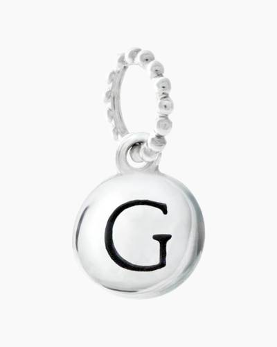 Exclusive Petites Letter G Initial Charm