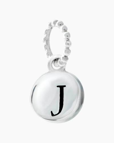 Exclusive Petites Letter J Initial Charm