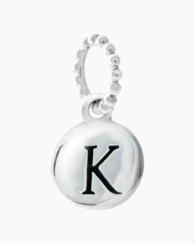 Exclusive Petites Letter K Initial Charm