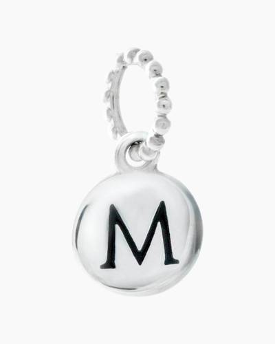 Exclusive Petites Letter M Initial Charm