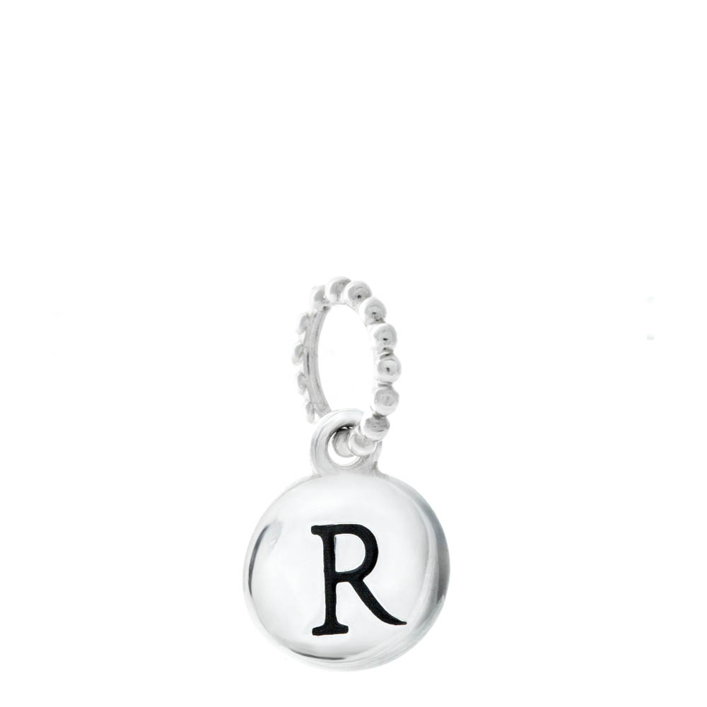 Chamilia Exclusive Petites Letter R Initial Charm