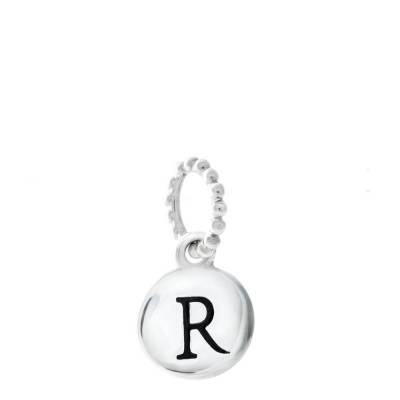 Exclusive Petites Letter R Initial Charm