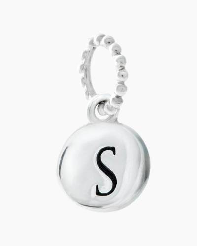Exclusive Petites Letter S Initial Charm