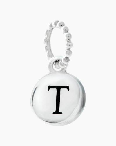 Exclusive Petites Letter T Initial Charm