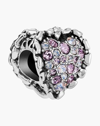 Limited Edition Ruffled Heart Charm