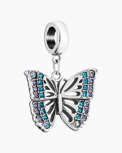 Rainforest Butterfly Charm