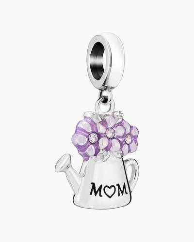 Mom Watering Can Charm