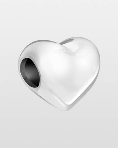 Classic Silver Heart Charm