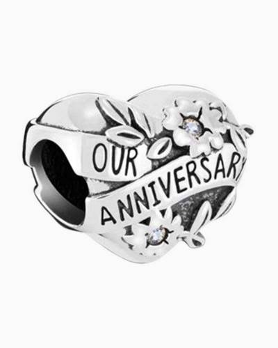 Our Anniversary Heart Charm
