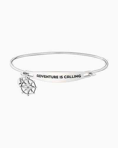 Adventure is Calling Spoken ID Bangle
