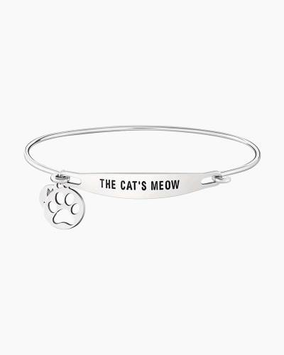 The Cat's Meow Spoken ID Bangle