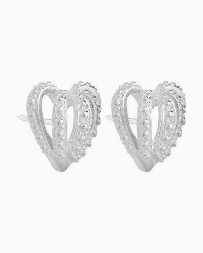 Crown Hearts Earrings