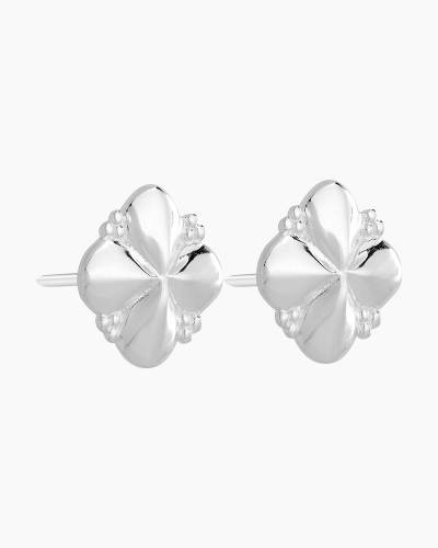 Petite Quatrefoil Earrings