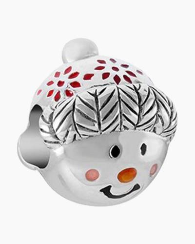 Cuddly Snowman Charm