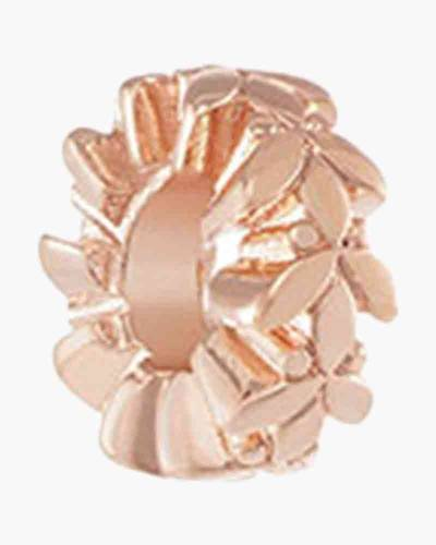 Leaves and Vines Charm in Rose Gold