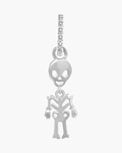 Happy Skeleton Spoken Hanging Charm