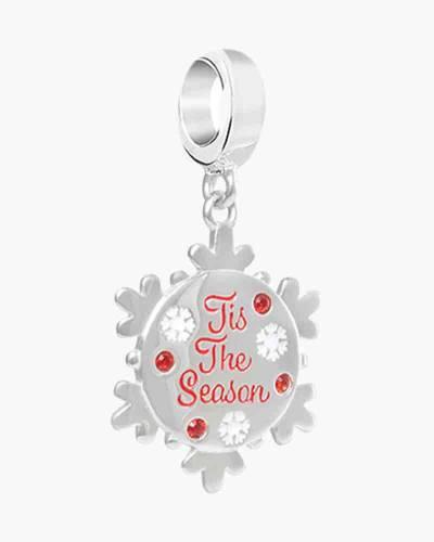 Tis the Season Snowflake Charm