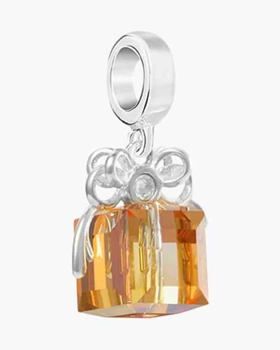 Swarovski Crystal Present Charm