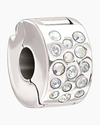 Iridescent Crystal Lock - Clear Swarovski