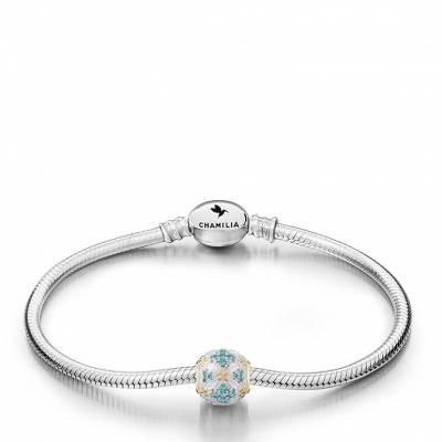 Garden Trellis Charm Bracelet