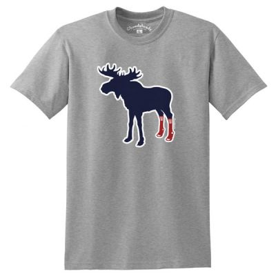 Sox On Moose Tee
