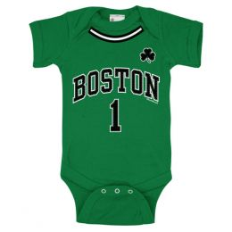 Chowdaheadz Boston Basketball Infant One-Piece