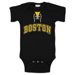 Chowdaheadz Boston Hockey Infant One-Piece