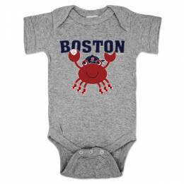 Chowdaheadz Boston Crab Baby One-Piece