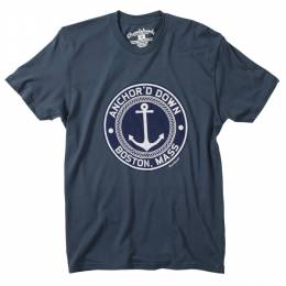 Chowdaheadz Men's Anchor'd Down Tee