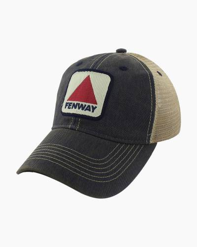 Fenway Patch Dirty Water Mesh Trucker Cap