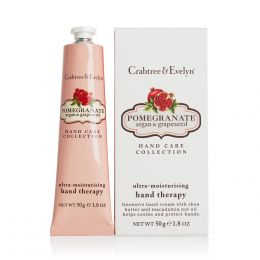 Crabtree & Evelyn Pomegranate, Argan & Grapeseed Ultra-Moisturizing Hand Therapy 50g