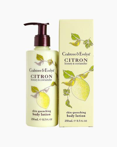 Citron, Honey and Coriander skin Quenching Body Lotion 250ml