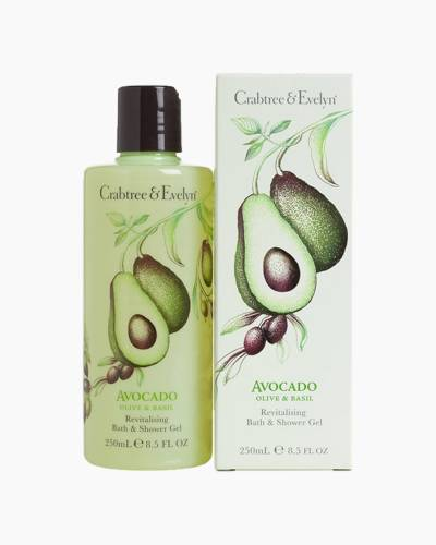 Avocado, Olive and Basil Bath and Shower Gel