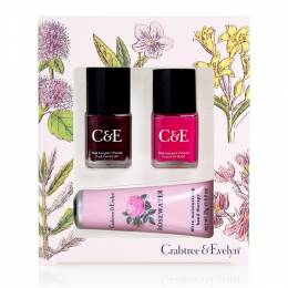 Crabtree & Evelyn Rosewater Hand Therapy & Nail Gift Set
