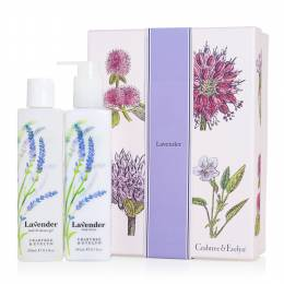 Crabtree & Evelyn Lavender Duo Bath Shower Gel and Body Lotion Gift Set