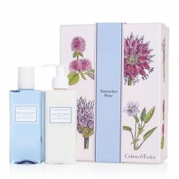 Crabtree & Evelyn Nantucket Briar Duo Bath Shower Gel and Body Lotion Gift Set