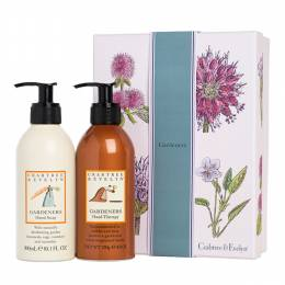 Crabtree & Evelyn Gardeners Hand Soap And Hand Lotion Duo Gift Set