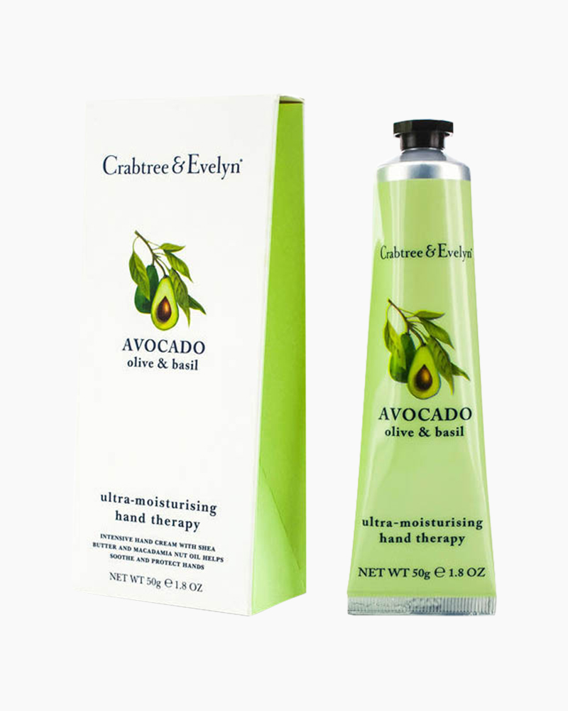 Crabtree & Evelyn Avocado, Olive and Basil Ultra-Moisturizing Hand Therapy (1.8 oz.)