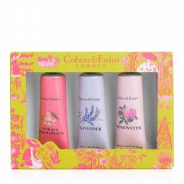 Crabtree & Evelyn Florals Hand Therapy Sampler Set