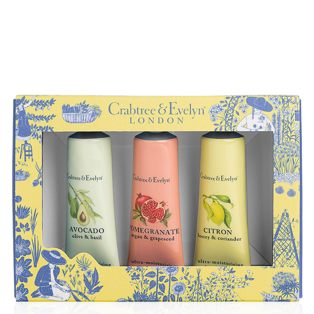Crabtree and Evelyn Botanicals Hand Therapy Sampler Set