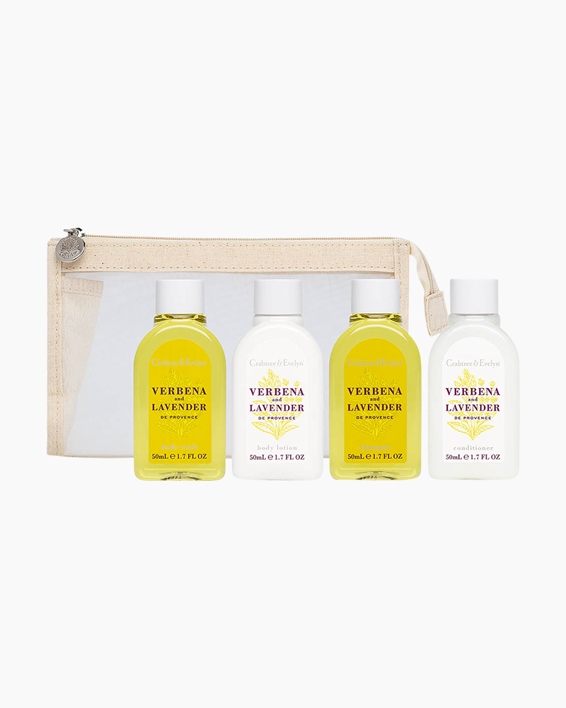 Crabtree & Evelyn Verbena and Lavender de Provence Travel Essentials Set