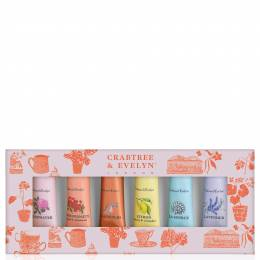 Crabtree & Evelyn Spring Favourites Hand Therapy Sampler Set (6-pack)