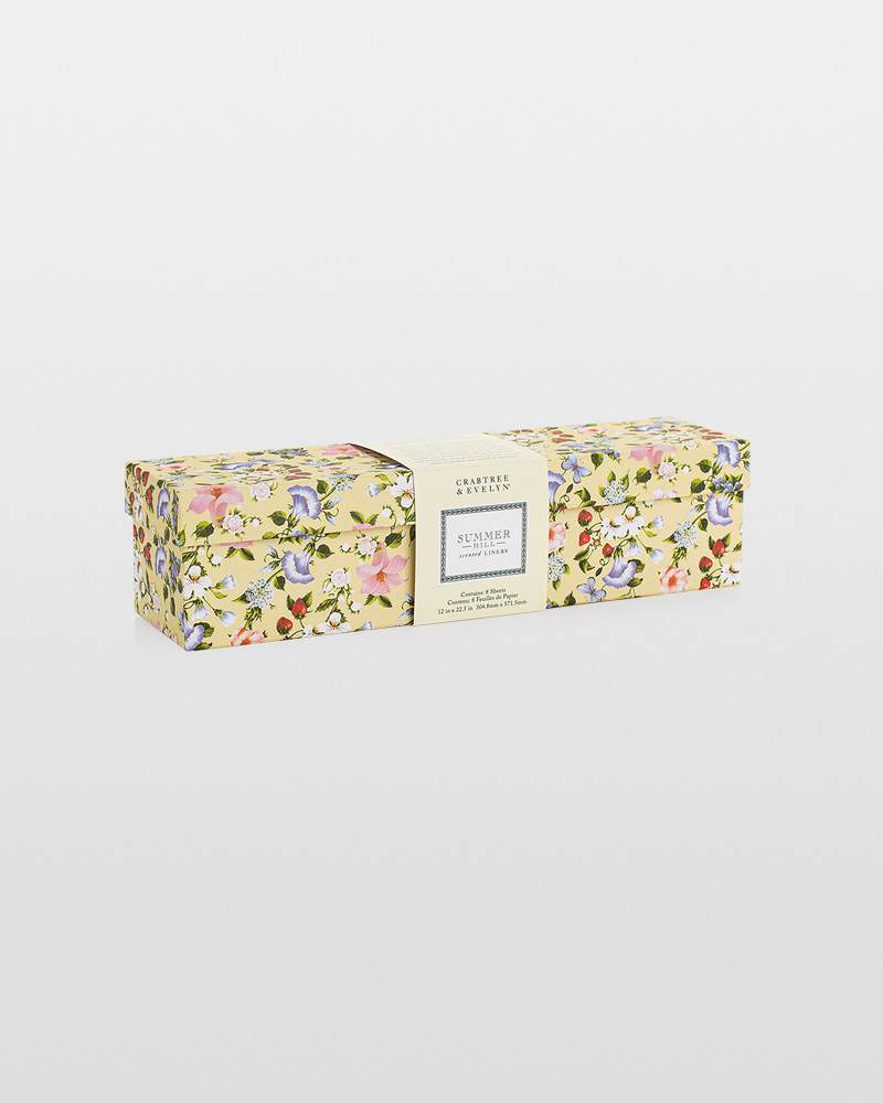Crabtree & Evelyn Summer Hill Scented Drawer Liner | The